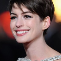 Adorable Short Pixie Cut with Side Swept Bangs - Short Hairstyles 2014