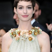 Anne Hathaway Boyish Short Pixie Haircut - Trendy Short Hairstyles for Summer