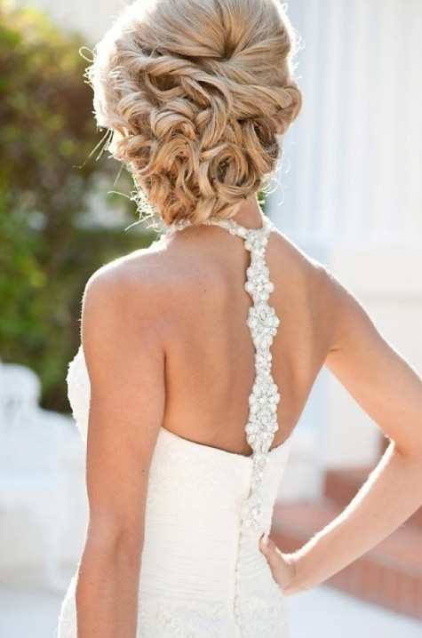 Beautiful Wedding Updos for Long Hair  Pretty Designs