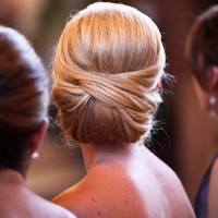 Best Fashion Updos - Elegant Updo hairstyle for Wedding