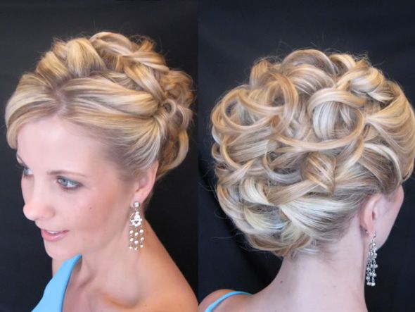 20 glamorous wedding updos 2017 romantic wedding - Chignon original ...