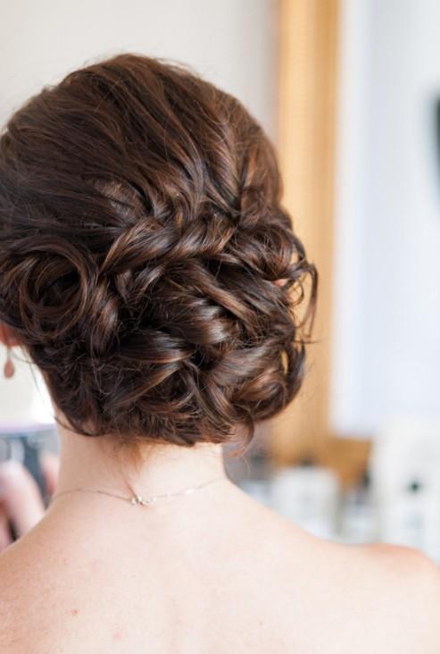Awe Inspiring Bridal Hairstyles Updo Best Hairstyles 2017 Hairstyles For Women Draintrainus