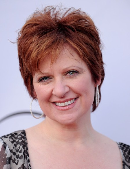 Layered Short Red Pixie Hairstyle for Women Over 50   Pretty Designs