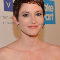Short Pixie Haircut for Fine Hair - Chyler Leigh Short Hairstyles