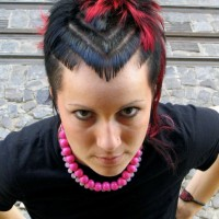 Cool Stylish Punk Hairstyles for Female