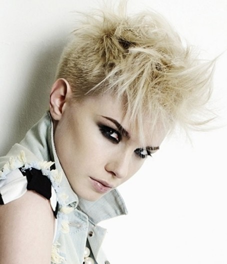 womens short hair styles punk
