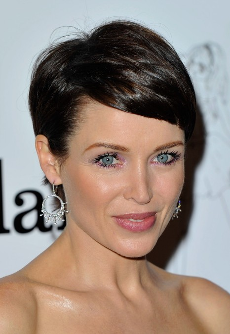 Short Haircut for Women Over 40 - Dannii Minogue Short Hairstyles 2014