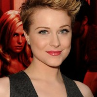 Short Edge Pixie Hairstyle for Women - Evan Rachel Wood Hairstyles 2014