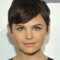 Chic Short Pixie Haircut with Bangs for Girls - Ginnifer Goodwin Haircut