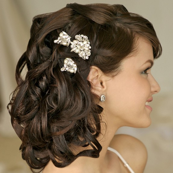 Fine 20 Beautiful Half Up Curly Hairstyles Every Lady Should Try Hairstyles For Men Maxibearus