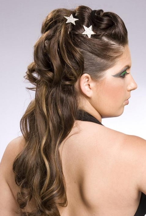20 Beautiful Half Up Curly Hairstyles Every Lady Should Try - Pretty Designs