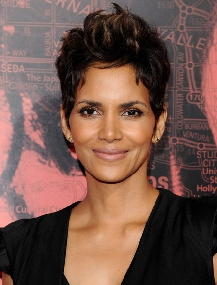Halle Berry Pixie Cut - Short Hairstyles 2014