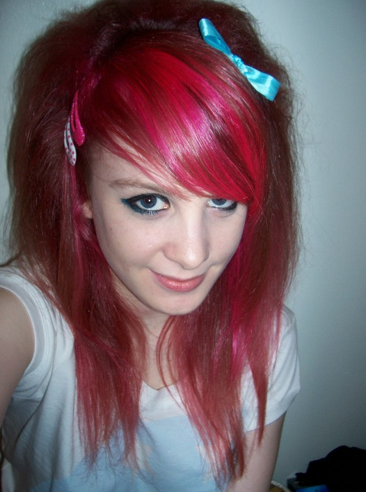 Emo hairstyles for girls with thick hair