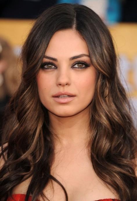 Strange Trendy Highlights For Brunette Hair Gorgeous Brunette Hairstyles Hairstyle Inspiration Daily Dogsangcom