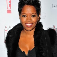 African American Short Spiked Black Pixie Haircut 2014 - Malinda Williams Hairstyles