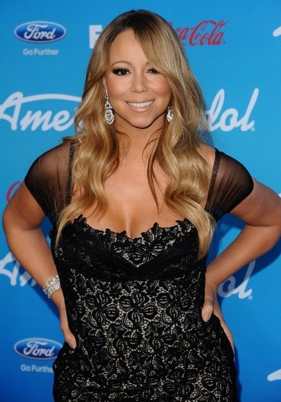 Mariah Carey Long Wavy Hairstyle for Summer 2013