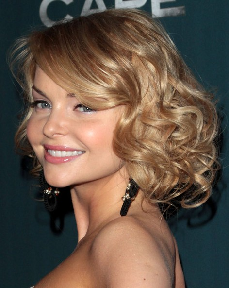 Curly Hairstyles For Short To Medium Length Hair : Miko hairstyle glamorous medium wavy curly hairstyles for women