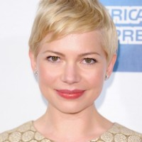 Casual Short Blonde Pixie Haircut - Michelle Williams Hairstyles