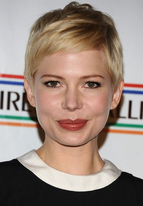 michelle williams pixie cut popular short hairstyles for
