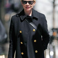 Michelle Williams Short Haircut - Classic Blonde Straight Pixie Cut