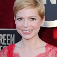 Best Short Haircut for Fine Hair - Michelle Williams Short Hairstyles