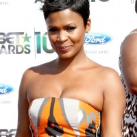 Nia Long Tousled Side Parted Pixie Cut - African American Hairstyles 2014
