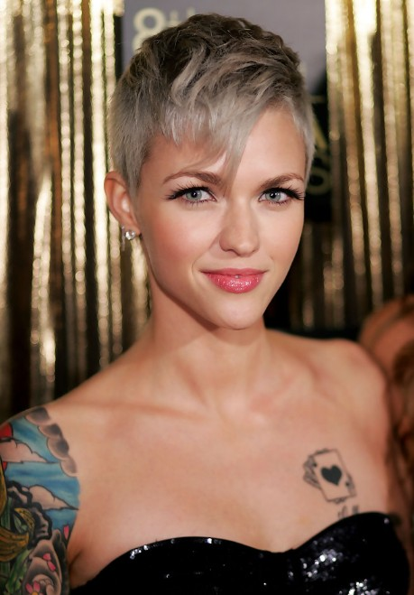 Short Pixie Haircut Bangs 2016