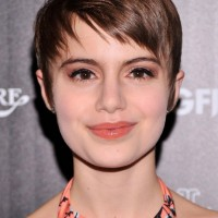 Sami Gayle Short Pixie Haircut - Cute Short Hairstyles for 2014