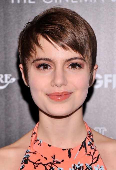 Lovely Sami Gayle Short Pixie Haircut   Cute Short Hairstyles For 2014