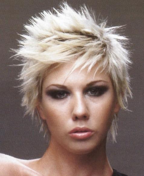 Miraculous Punk Hairstyles For Women Stylish Punk Hair Photos Pretty Designs Short Hairstyles Gunalazisus