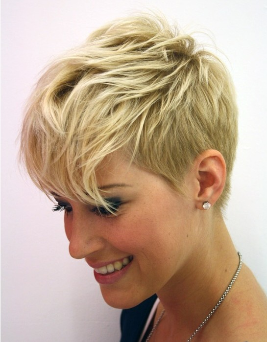 Short Layered pixie cut 2016