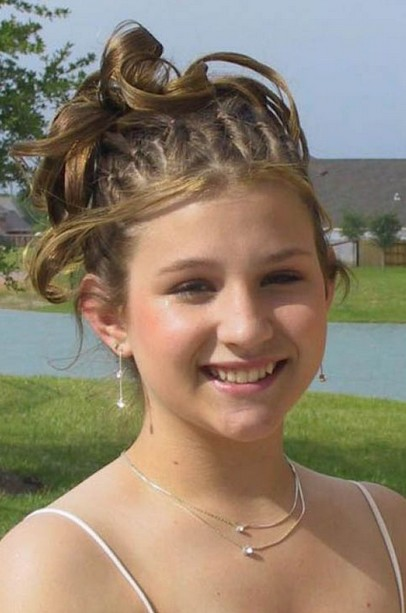 Short Prom Updo Hairstyles