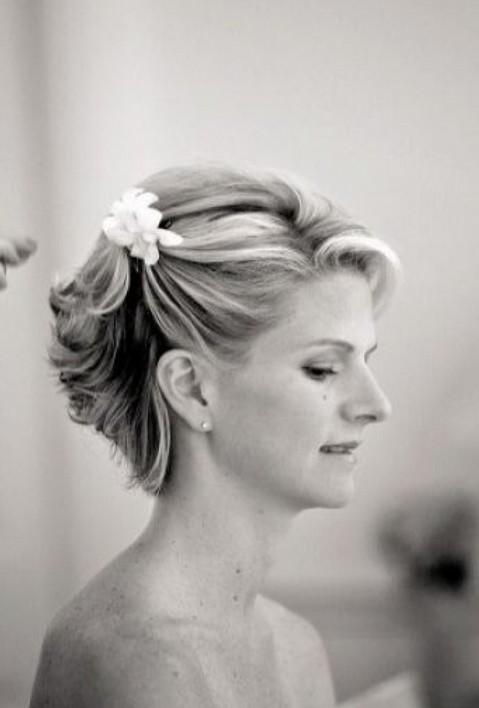 Short Wedding Haircuts Updo For Hair