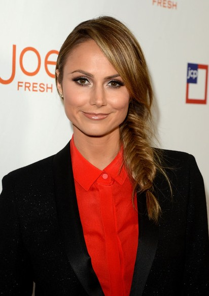 Stacy Keibler Long Braided Hairstyle for Summer
