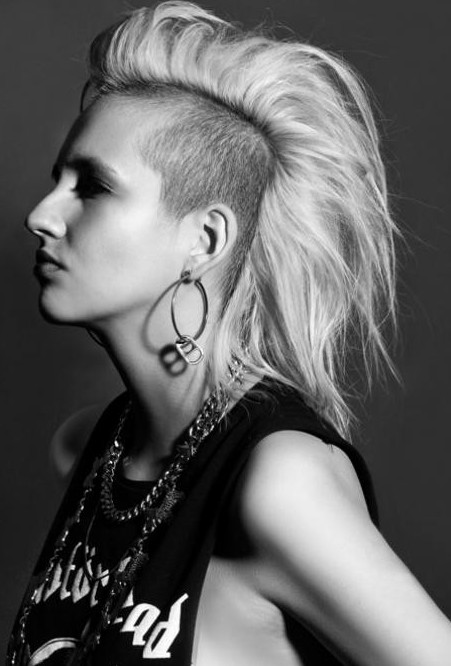 Trendy Punk Hairstyles