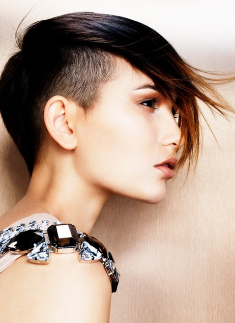Trendy Sleek Punk Hairstyles 2014