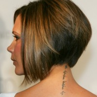 Victoria Beckham Inverted Bob Haircut for Thin Hair - Sexy Short Haircut for Women