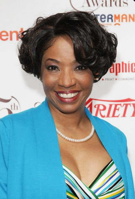 Short Black Curly Bob Hairstyle for African American