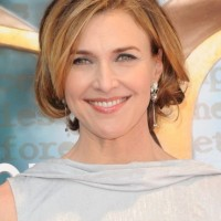 Brenda Strong Layered Bob Hairstyle - Most Popular Hairstyles for Women Over 50