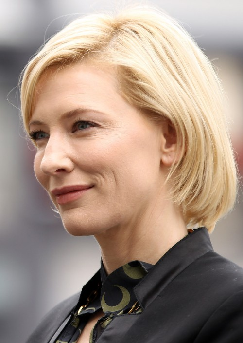 Cate Blanchett Bob Haircut Hair Color Ideas And Styles For 2018