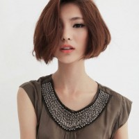 Cute Bob Hairstyles for Girls - Asian Bob Cut