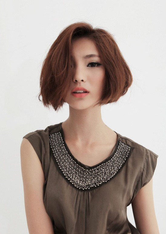 Cute Bob Hairstyles For Girls Asian Bob Cut Pretty Designs - Short hair bob girl