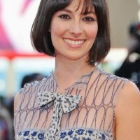 Classic Short Dark Bob Haircut with Bangs for Summer - Daniela Virgilio Haircut