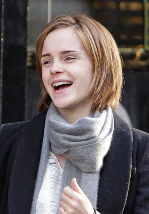 Emma Watson Short Bob