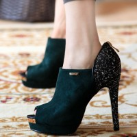 Fish Head Style High Heels