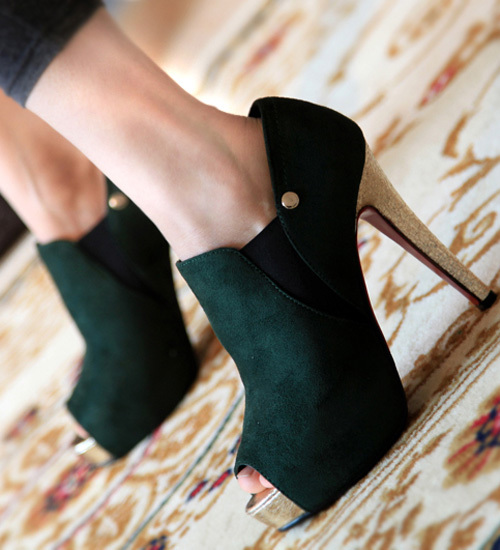 Fish Head Style High Heels for Summer