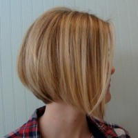 Side View of Graduated Bob Cut - Cool!