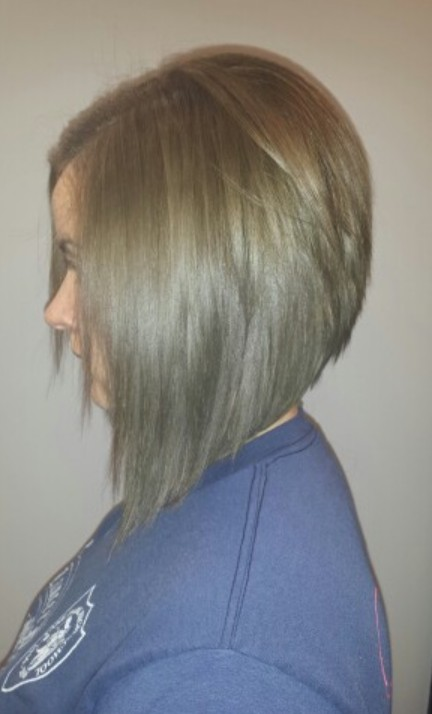 Layered Graduated Bob Back View | newhairstylesformen2014.com