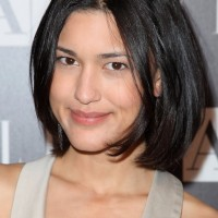 Cute Short Black Bob Haircut for Asian Girls - Julia Jones Hairstyles