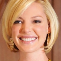 Short Bob Hairstyle for Round Face Shapes - Cute Short Haircuts 2014